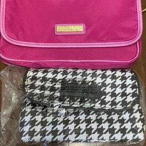Crabtree and Evelyn cosmetic pouches (2)